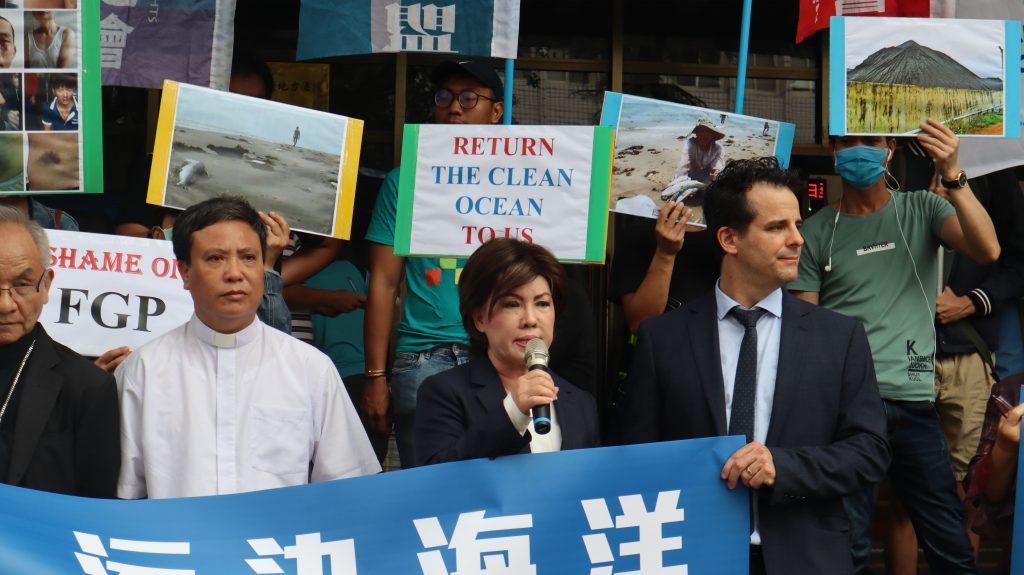 台塑受害者正義會副會長裴南茜指出,部分未取得台塑任何賠償的受害者,數次前往越南法院提起訴訟,卻遭法院撤銷其申請;甚至前往的路途中,數千人遭到騷擾及毆打。